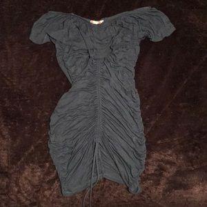 Ruched, Off the Shoulder Dress
